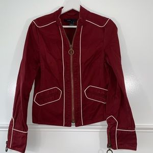 Marc Jacobs women jacket size S zipper fitted